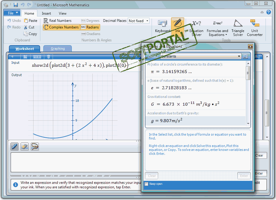 how microsoft mathematics works Instead of using a calculator, use microsoft excel to do the math you can enter simple formulas to add, divide, multiply, and subtract two or more numeric values or use the autosum feature to quickly total a series of values without entering them manually in a formula after you create a formula.