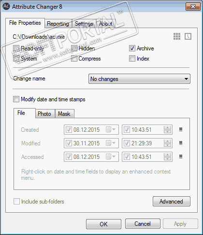Attribute Changer 9.0 a